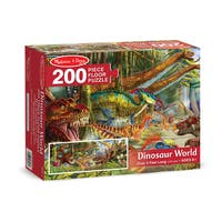 Melissa & Doug Dinosaur World 200 Piece Floor Puzzle