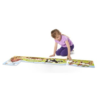 Melissa & Doug Farm Linking 96 Piece Floor Puzzle