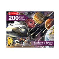 Melissa & Doug Exploring Space 200 Piece Floor Puzzle