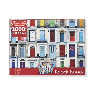 Melissa & Doug 1000 Piece Knock Knock Cardboard Jigsaw