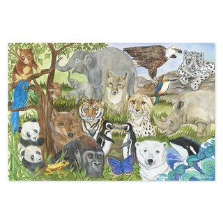 Melissa & Doug Endangered Species48 Piece Floor Puzzle