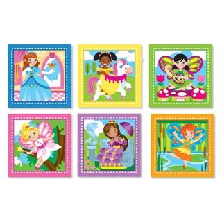 Melissa & Doug Princess & Fairy Cube Puzzle