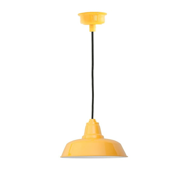 "16"" Goodyear LED Pendant Light in Yellow"