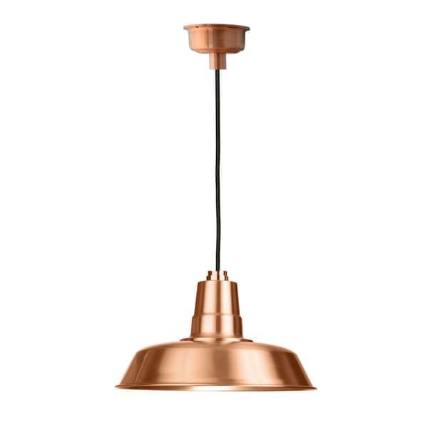 """18"""" Oldage LED Pendant Light in Solid Copper"""