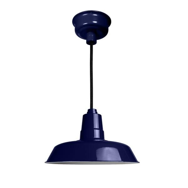 """18"""" Oldage LED Pendant Light in Cobalt Blue. Opens flyout."""