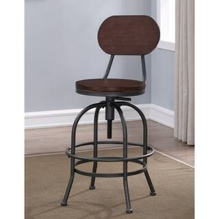 Wood Adjustable Counter Amp Bar Stools For Less Overstock
