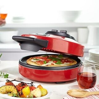 Wolfgang Puck 1400-Watt Electric Countertop Baker Pizza Maker (Option: Red)