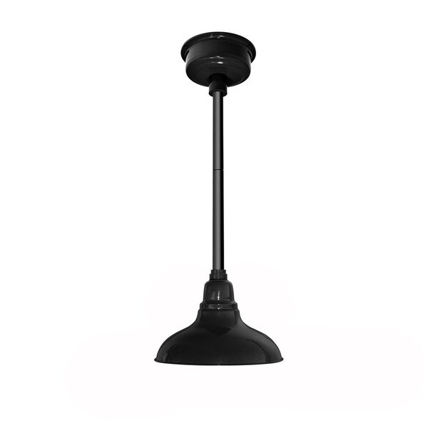 Dahlia Black Metal LED Pendant Barn Light