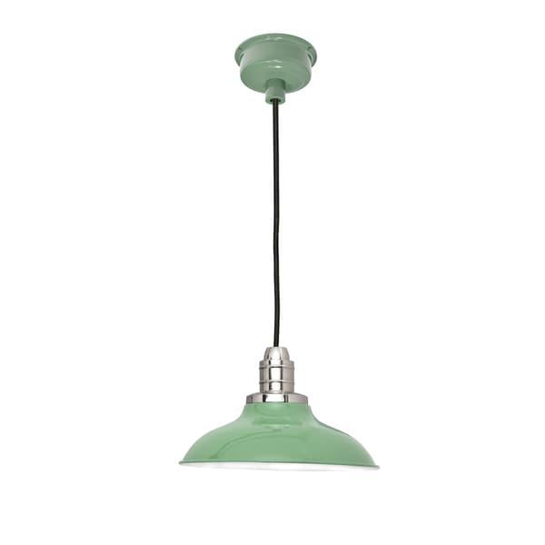 "10"" Peony LED Pendant Light in Jade"