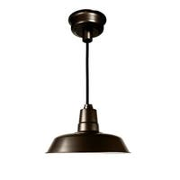 "22"" Oldage LED Pendant Light in Mahogany Bronze"