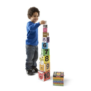 Melissa & Doug Nesting Blocks Numbers, Shapes, Colors