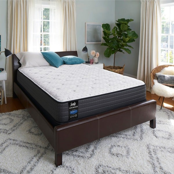 Shop Sealy Response Performance 12 Inch Plush Full Size Mattress Set On Sale Free Shipping