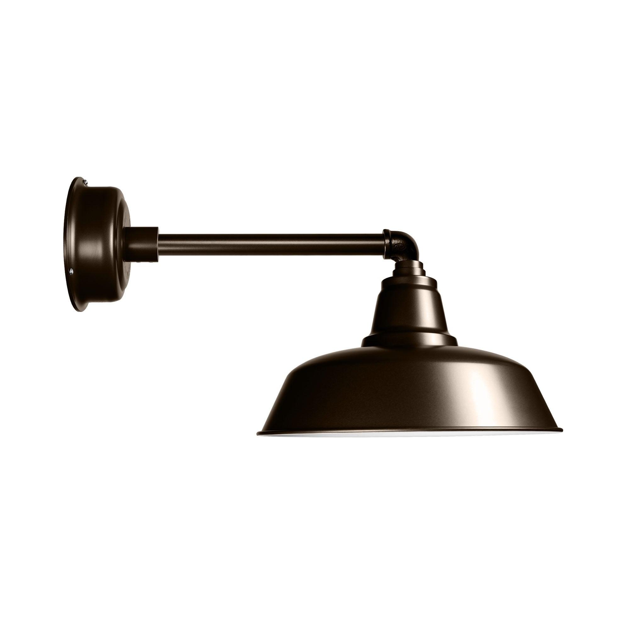 "Cocoweb 12"" Goodyear LED Barn Light with Metropolitan Arm..."
