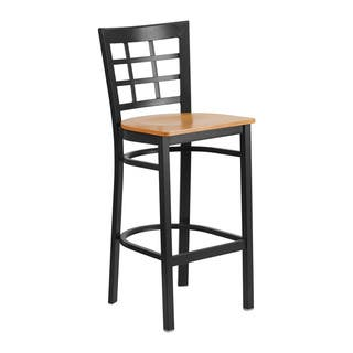 Offex Hercules Series Black Metal Restaurant Bar Stool|https://ak1.ostkcdn.com/images/products/16643714/P22966887.jpg?impolicy=medium