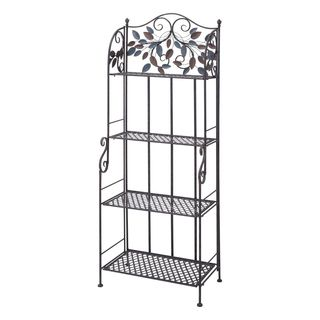 Nichol Brown Metal Bakers Rack