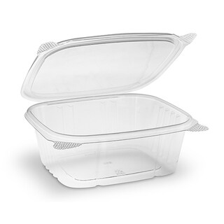 ePackageSupply - 32 oz. Disposable Plastic Deli Storage Container with Hinged Lid