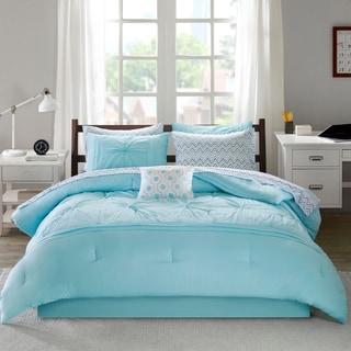 Intelligent Design Devynn Embroidered Comforter and Sheet Set