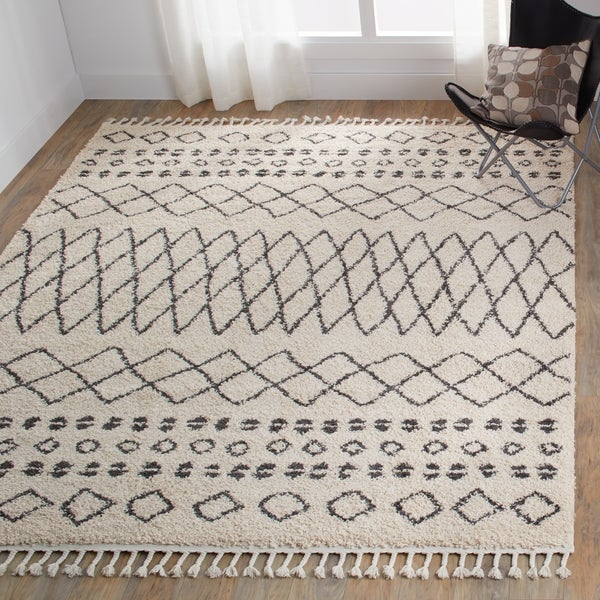by rugs natural product rug home scandinavian moroccan design trellis area nuloom shag