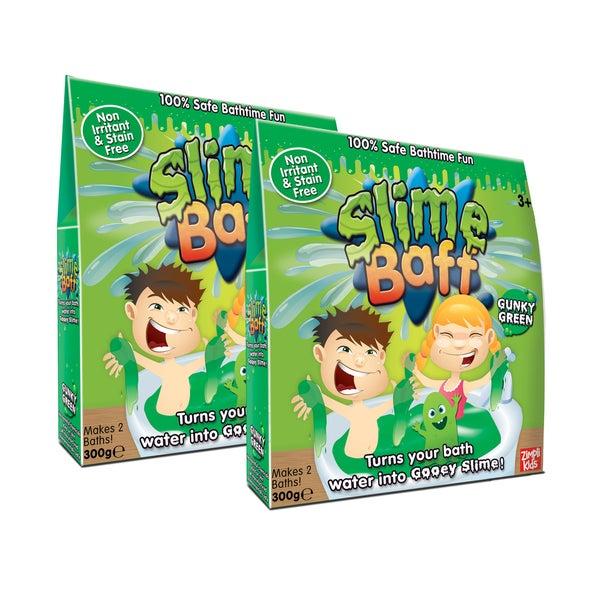 Zimpli Kids Green Bath Slime Baff 4-Use, (2) Boxes