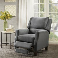 Madison Park Peoria Grey Push Back Recliner