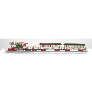Bachmann Trains Norman Rockwell's American Christmas Ready To Run Electric Train Set - On30 Scale