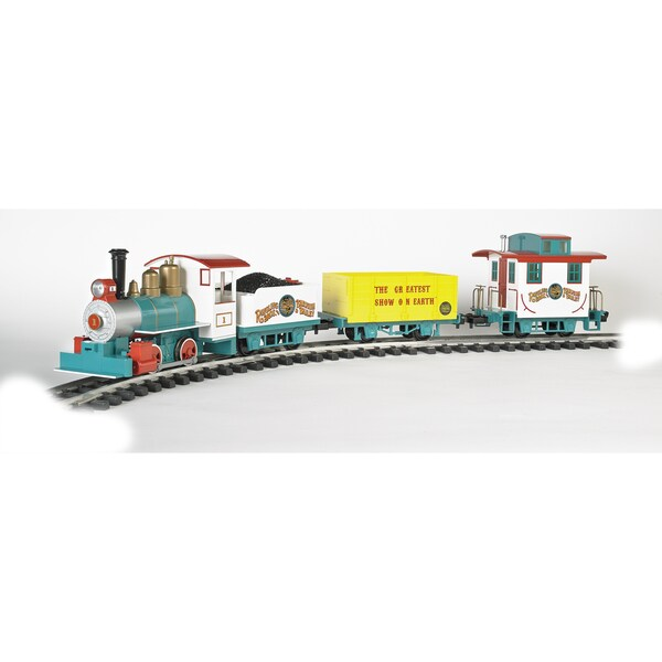 Bachmann Trains Ringling Bros. and Barnum & Bailey Li'L Big Top Large 'G' Scale Ready-to-run Electric Train Set