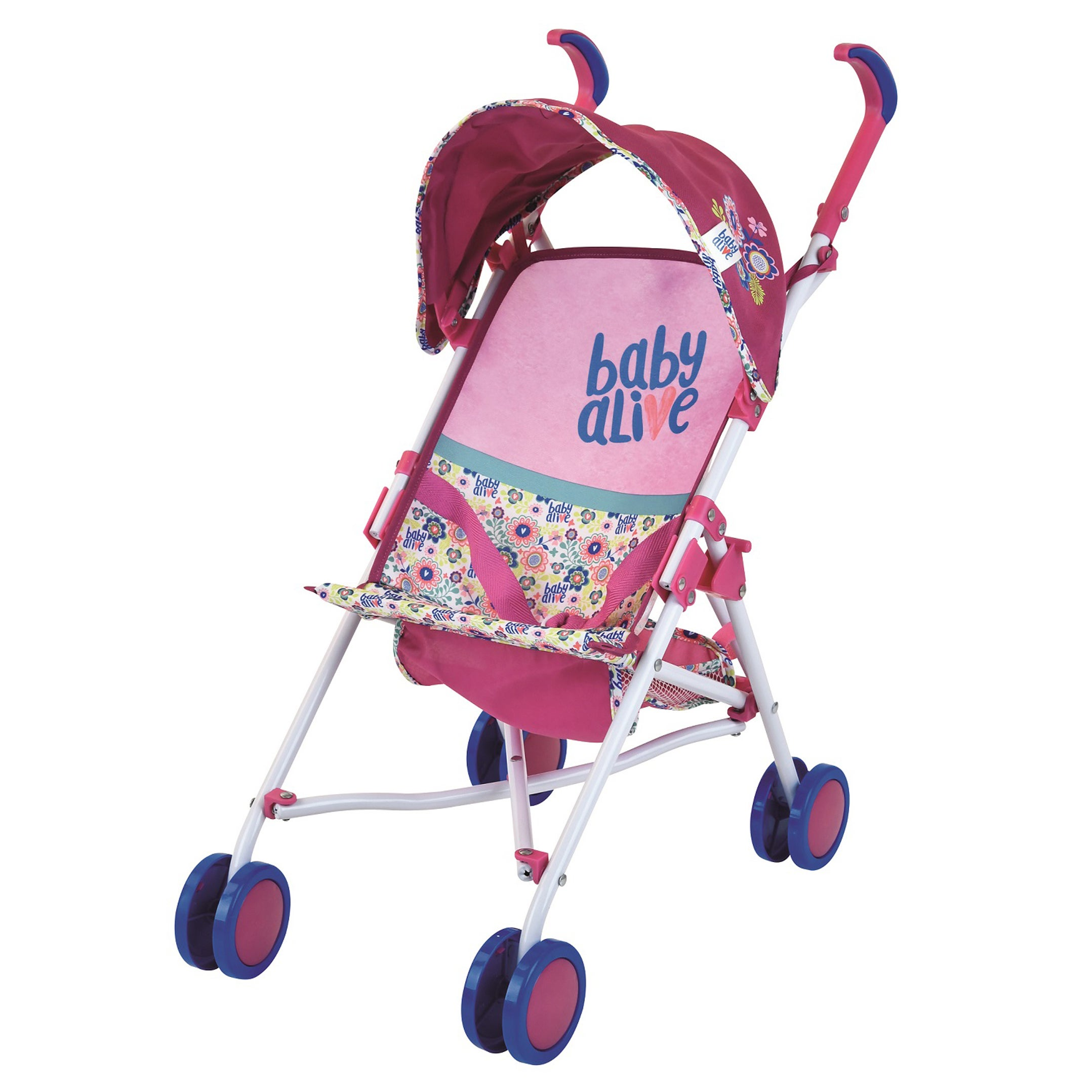 Hauck Hasbro Baby Alive Doll Stroller (G621328820912), Multi