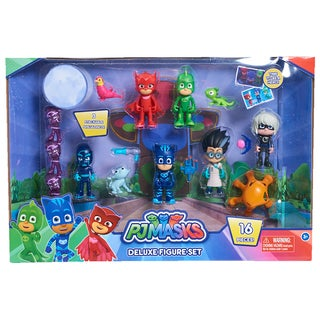 PJ Masks Friends Deluxe Mini Figures Collection