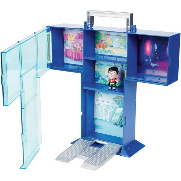 Teen Titan Go! Tower Mini Figure Display Case with Mini Figure