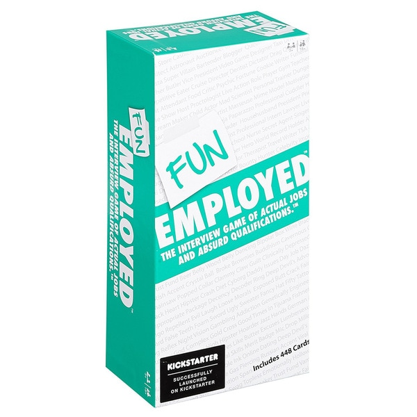 Funemployed™ Card Game: The Interview Game of Actual Jobs and Absurd Qualifications