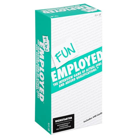 Funemployed Card Game: The Interview Game of Actual Jobs and Absurd Qualifications