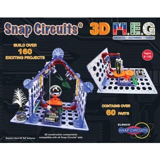 Elenco Snap Circuits 3D M.E.G. Learning Set