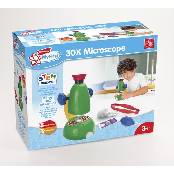 Edu Toys My First 30X Microscope Sciene Learning Set