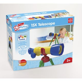 Edu Toys My First 15X Telescope Science Astronomy Toy|https://ak1.ostkcdn.com/images/products/16645031/P22968102.jpg?_ostk_perf_=percv&impolicy=medium