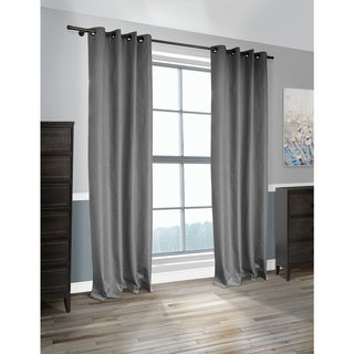 Lite Out Cabo Linen-look Blackout Curtain Panel Pair