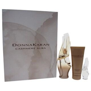 Donna Karan Cashmere Aura Women's 3-piece Gift Set