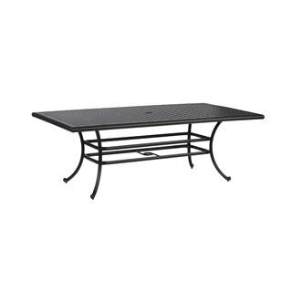 Yorkshire Black Aluminum Table