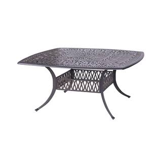 Saratoga Cast Aluminum 64-inch Square Outdoor Dining Table|https://ak1.ostkcdn.com/images/products/16649769/P22972349.jpg?impolicy=medium