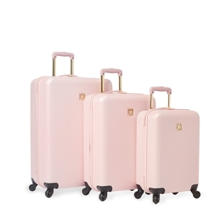 Anne Klein Aurora 3-piece Hardside Spinner Luggage Set