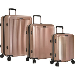 Anne Klein Dubai 3-piece Hardside Spinner Luggage Set (3 options available)