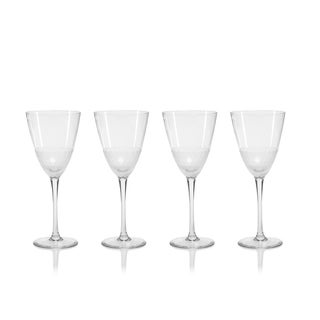 Vitorrio Frosted Wine Glasses, Set of 4