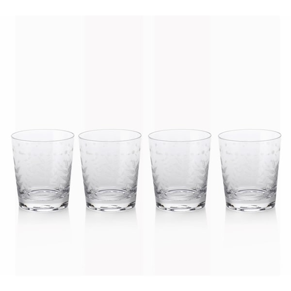 """Patia"" 4"" Tall Old Fashioned Glass (Set of 4)"