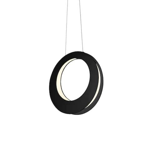 Sonneman Lighting Haro LED Satin Black Pendant