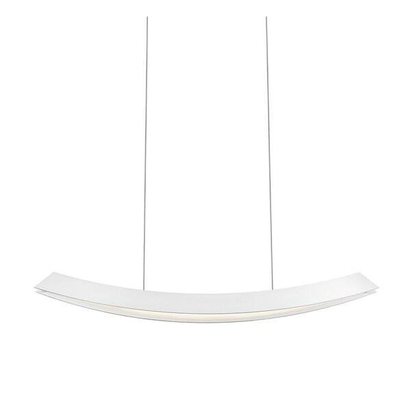 Sonneman Lighting Kabu Large LED Textured White Pendant