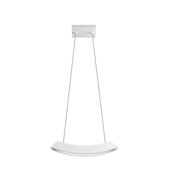 Sonneman Lighting Kabu Small LED Textured White Pendant