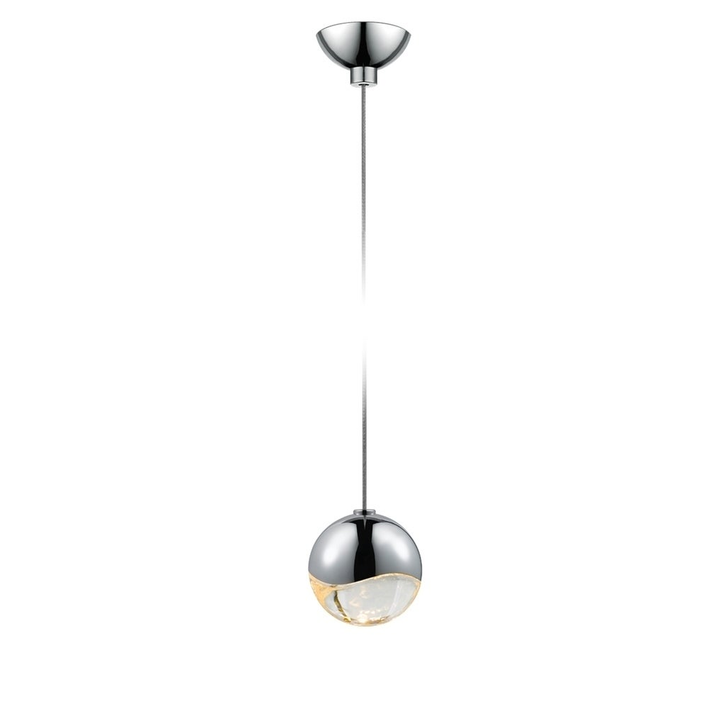 Sonneman Lighting Grapes 1-light LED Polished Chrome Micr...