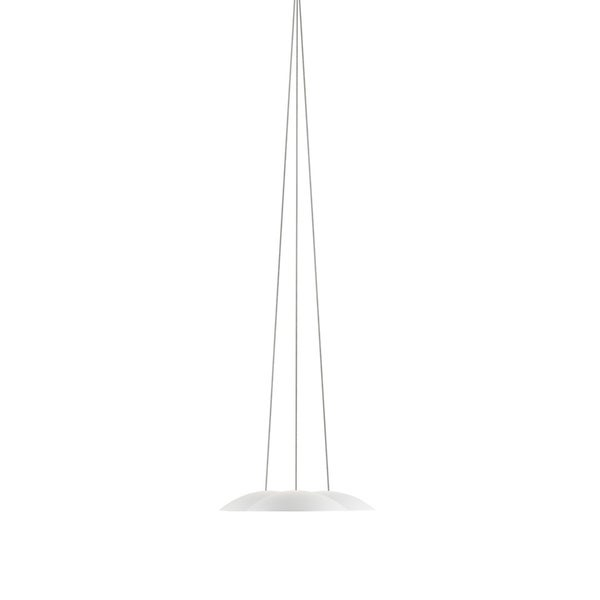 Sonneman Lighting Little Cloud DownLight LED Textured White Pendant, Optical Acrylic Diffuser