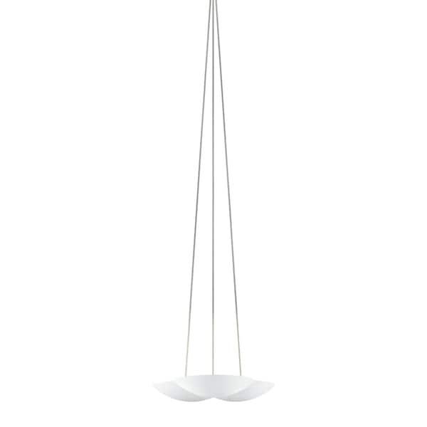Sonneman Lighting Little Cloud UpLight LED Textured White Pendant, Optical Acrylic Diffuser