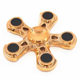 Superior Metalic Fidget Spinner 5 Side
