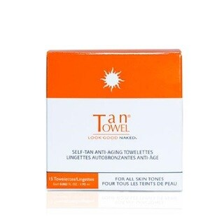 TanTowel 15-piece Face Self-Tanning Towelettes